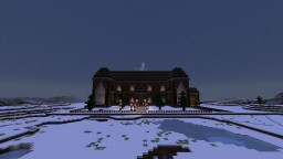 Nisse Byen (Santa Town) Minecraft Map & Project