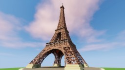 Eiffel Tower - Recreated in Minecraft Minecraft Map & Project
