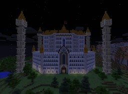 Fairy Tail - Phantom Lord Guild Hall Minecraft Map & Project