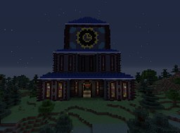 Fairy Tail - Eisenwald Guild Hall Minecraft Map & Project