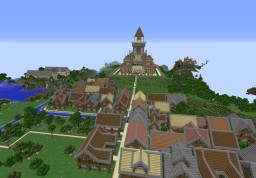 Fairy Tail - Magnolia Minecraft Map & Project