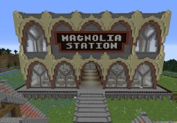 Fairy Tail - Magnolia - Magnolia Station Minecraft Map & Project