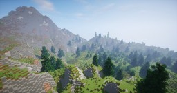Mountain with Forests Minecraft Map & Project
