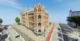 Hotel Building Minecraft Map & Project