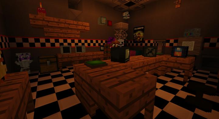 Ultimate Custom Night Minecraft Project