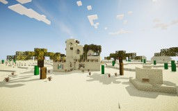 Desert Piston House - Minecon 2018 #SANDBEFORELAND Minecraft Map & Project