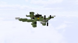 JU 87 Stuka - B German WW2 Dive Bomber (1:1) Minecraft
