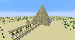 Pyramid Minecraft Map & Project