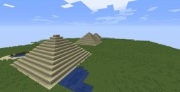wjLohmemes Pyramids Minecraft Map & Project