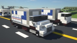 USPS Postal Service Box Truck Minecraft Map & Project