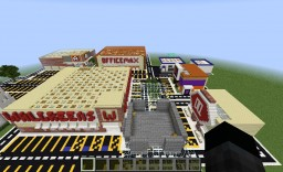 Real Life Stores Hidden Button map Minecraft Map & Project