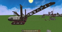 The LIMA 2400 DRAGLINE Minecraft