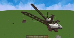 The LIMA 2400 Crane ( hook & clamshell ) Minecraft