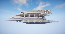 Just ''Futuristic'' Spaceship Minecraft Map & Project