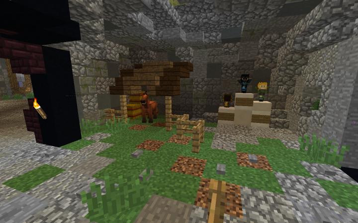 Another Minigame Room w ArmorStand Figures