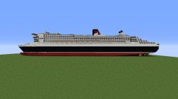 RMS Queen mary 2 (Remastered) Minecraft Map & Project