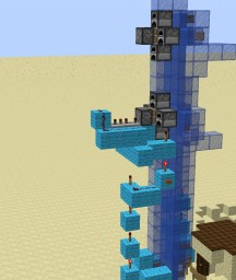A water elevator For Grian Minecraft Map & Project