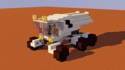 SpaceX Mars Rover Minecraft Map & Project
