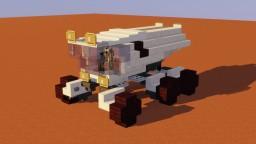 SpaceX Mars Rover Minecraft