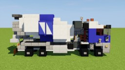 Concrete Mixer Truck Minecraft