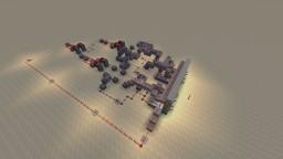Minecraft Maps Projects With Downloadable Schematic - Minecraft redstone hauser deutsch