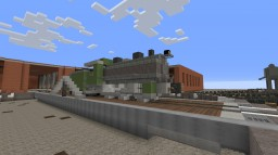 Baldwin Loco. Works No. 26: Steam Locomotive Minecraft Map & Project