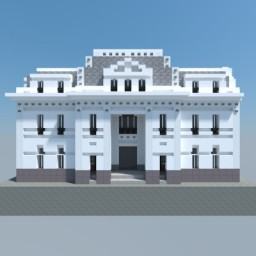 Santiago Central Post Office Minecraft Map & Project