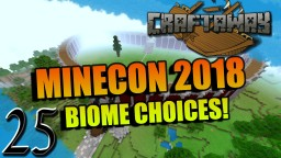 Minecon 2018 Biome Vote - And base progress on the Craftaway server :) Minecraft Map & Project