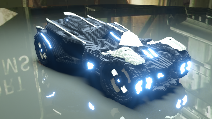 Popular Project : Batmobile 2018 V1.0