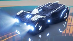 Batmobile 2018 V1.0 Minecraft Map & Project