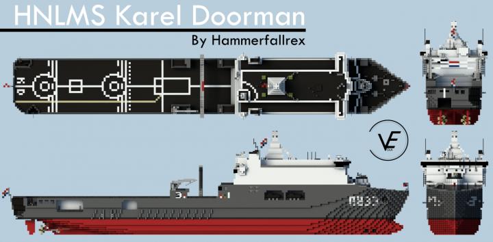 Popular Project : Zr.Ms. Karel Doorman A833 - Royal Netherlands Navy - 1:1 scale