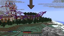 huge mall, roller coaster, ferris wheel Minecraft Map & Project