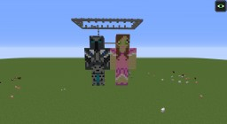burning map - PopularMMOs and GamingWithJen Minecraft Map & Project