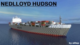 Nedlloyd Hudson - Container Ship Minecraft