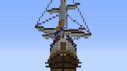 Duyfken (Dutch Republic ship) Minecraft Map & Project