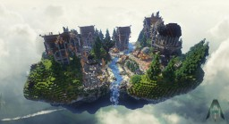 - [ Steampunk Spawn 100 x 100 ] - Minecraft Map & Project