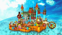 Colorful Paradise Hub Minecraft Map & Project