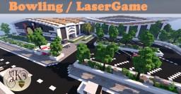 Bowling / Laser-Game Minecraft