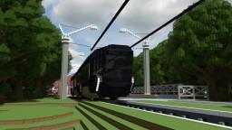 "Tram ""granit"" Minecraft Map & Project"