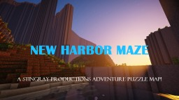 NEW HARBOR MAZE! 1.13.1 Adventure Puzzle Map! Minecraft Map & Project