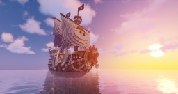 One Piece - Thousand Sunny [DOWNLOAD] Minecraft Map & Project
