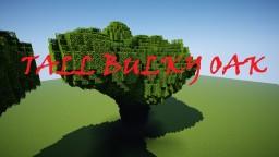 Tall Bulky Oak Tree Minecraft Map & Project