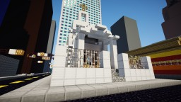 Small Urban Church Building Minecraft Map & Project