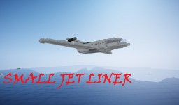 SMALL JET LINER! Schematic Minecraft Map & Project