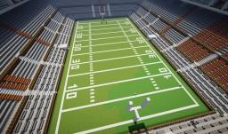 FOOTBALL STADIUM! VERY LARGE! Minecraft Map & Project