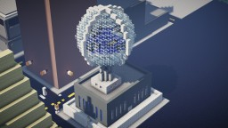 Glass Globe City Tower Minecraft Map & Project