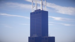 Willis, Sears Tower, Chicago Minecraft Map & Project