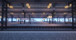 Carly Silence Train Station Minecraft Map & Project