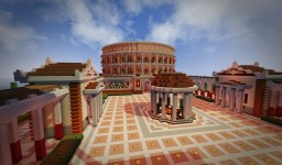 Spawn in Roman style Minecraft Map & Project