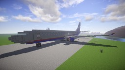 "Boeing 737-MAX ""Aeroflot"" Minecraft Map & Project"